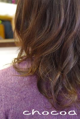 今回は暖かみのある髪色にしました(^^)/
