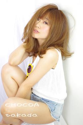 撮影 SummerGirl モデルさん 外ハネスタイル 美容室