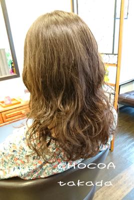 髪の毛 揺れる 動く 久しぶり パーマ ウエット感 無造作 ムース ワックス オイル スタイリング