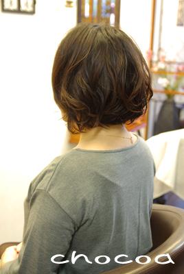 毛先に大きな動きが付くことが目的です~(^^)/