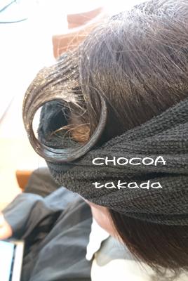 前髪 パーマ ストレート 根元の立ち上がり 1カール 左右 流す オススメ