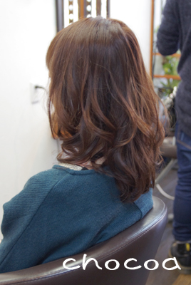 いつもと違う髪色のしてみるのも楽しいですよ(^_^)ノ